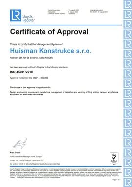 ISO 45001 2020-2021 HCZ