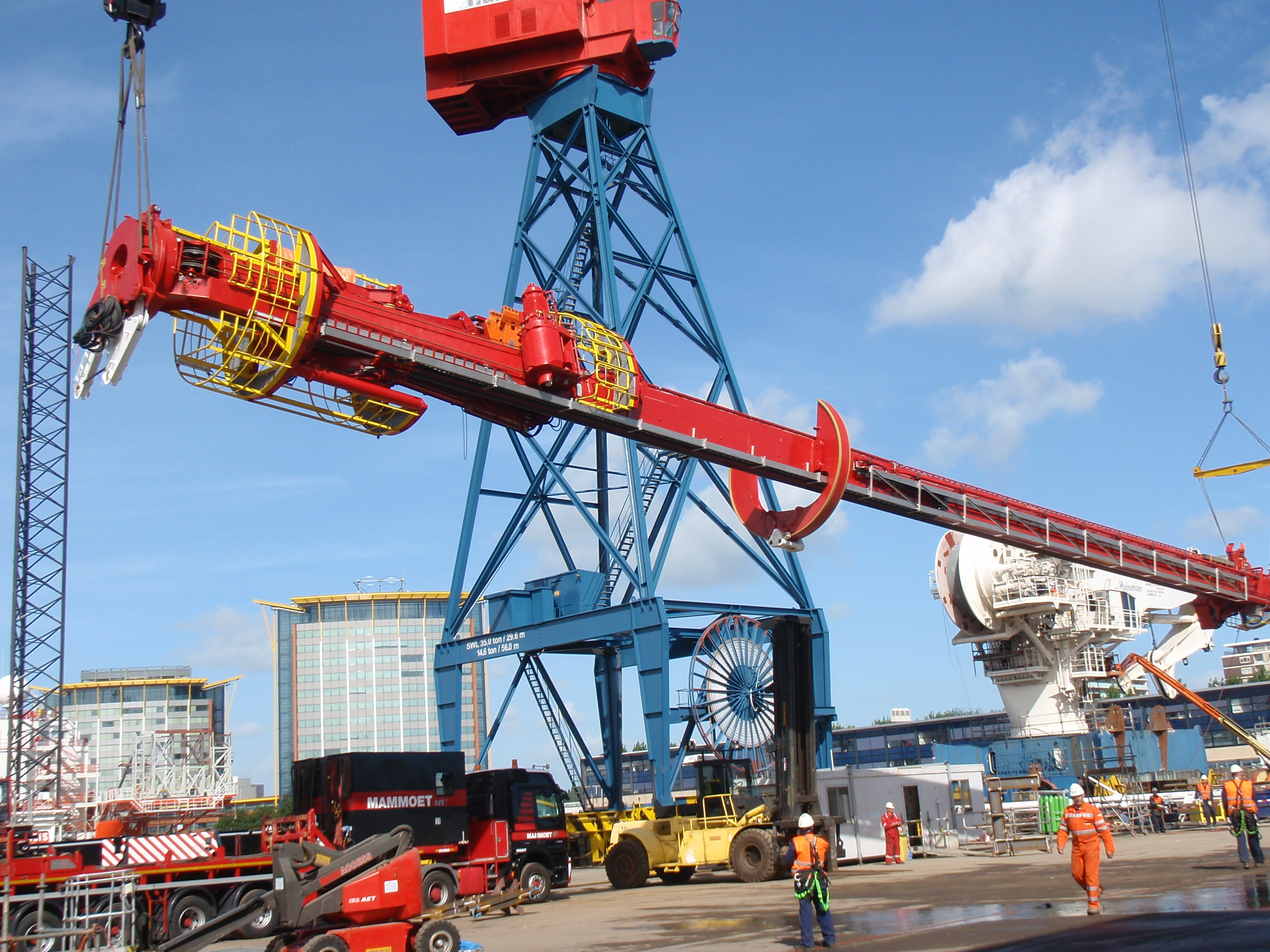 drilling equipment pipe racker