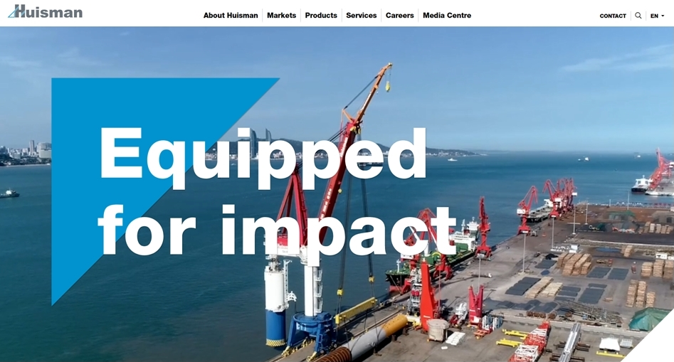 Visit brand new website Huisman Equipment